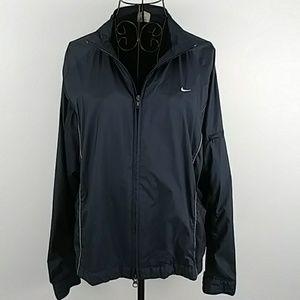 Nike size large 12/14 Navy blue jacket